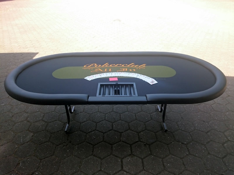Pokertisch – Bau – fertig