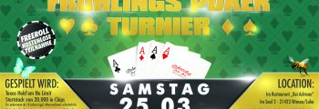 Frühlings-Poker-Turnier 2017
