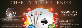 Charity Texas Hold'em Pokerturnier 2017