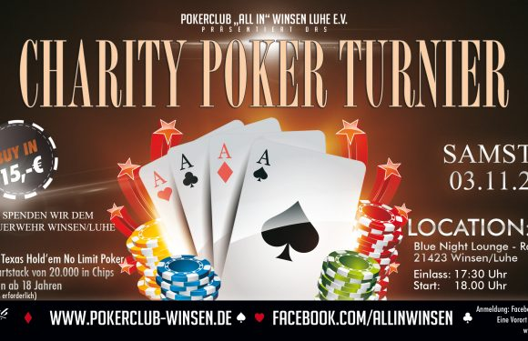 Charity Texas Hold'em Pokerturnier