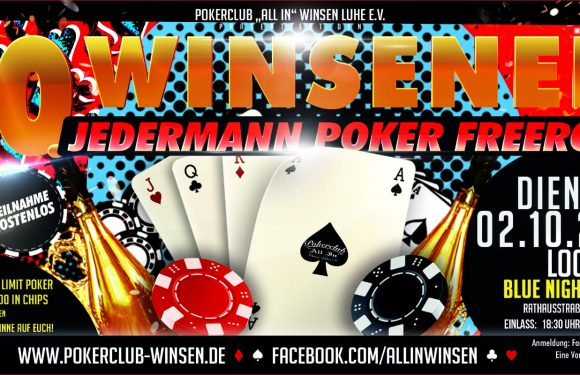 10. Winsener Jedermann Poker Freeroll