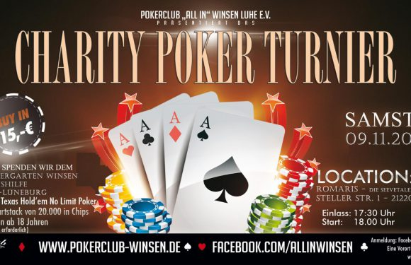 Bericht zum Texas Hold'em Charity-Turnier 2019
