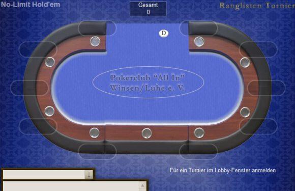 Kein Poker wegen Corona? Wir spielen online!